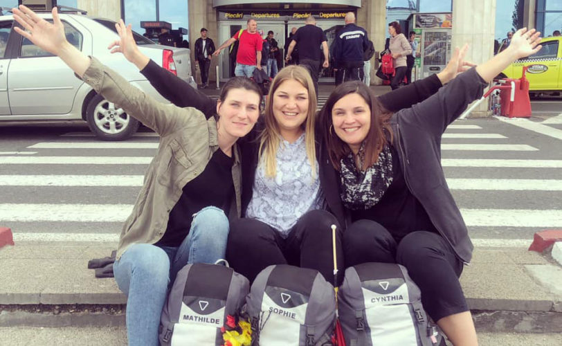 Mathilde, Sophie et Cynthia, gagnantes de la session MAi 2019 de On The Road a Game