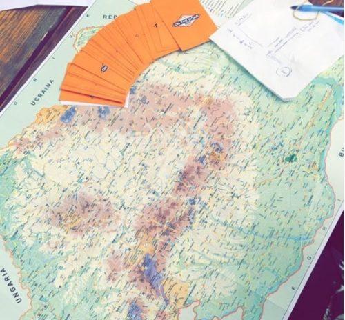 On The Road a Game - Carte de jeu de session